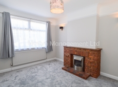 Newly redecorated one bed ground floor garden flat on Martin Way, SM4 – LET AGREED