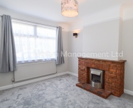 Newly redecorated one bed ground floor garden flat on Martin Way, SM4 – Available now