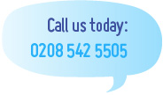 Call us today: 0208 542 5505